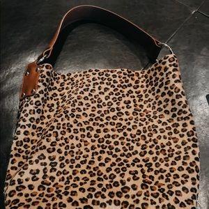 Handbags - Vintage cheetah print purse